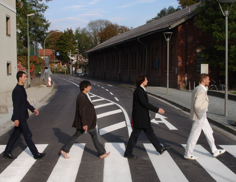 Not The Beatles Who Are Not Crossing Abbey Road