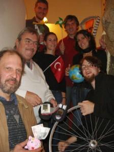 Der neue Vorstand der Passauer Grünen Nov. 2005