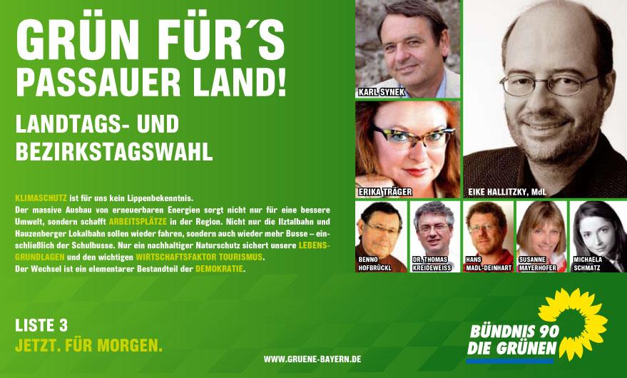Anzeige zur Landtagswahl
