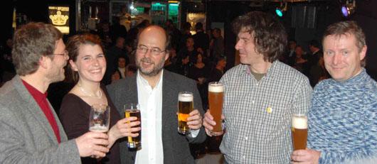 Neujahrsempfang der Passauer Grünen 2009 im ProLi