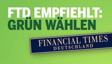 FTD empfiehlt Grün zur Europawahl 2009
