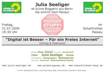Julia Seeliger - Vortrag (Kleines Bild)