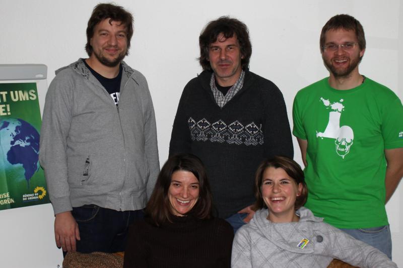 Der neue Vorstand des KV Passau-Stadt