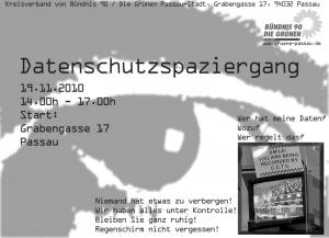 Datenschutzspaziergang in Passau