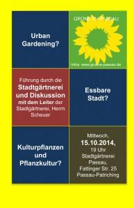 Flyer-Stadtga¨rtnerei