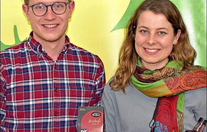 Matthias Weigl und Jamila Schäfer