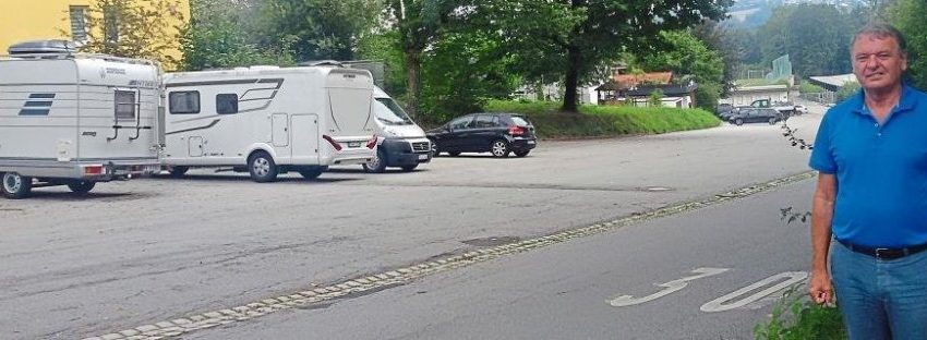 Stadtrat Synek: Wohnbauten statt Parkbrache