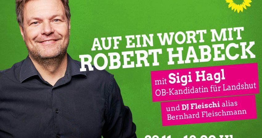 Auf ein Wort mit Robert Habeck