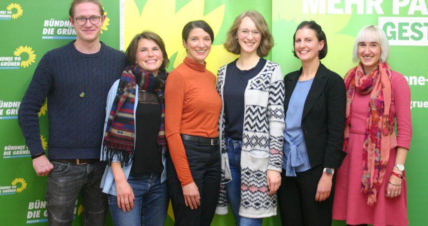 Grünen Landesvorsitzende Eva Lettenbauer in Passau