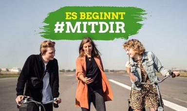 Veränderung fängt immer irgendwo an. Unsere Kampagne beginnt #mitdir: Workshops, Austausch, Vernetzung und viele Mitmach-Aktionen – on- und offline