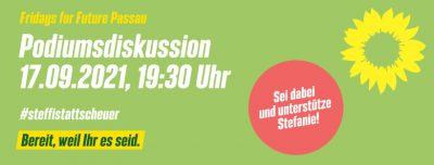 Podiumsdiskussion Fridays For Future